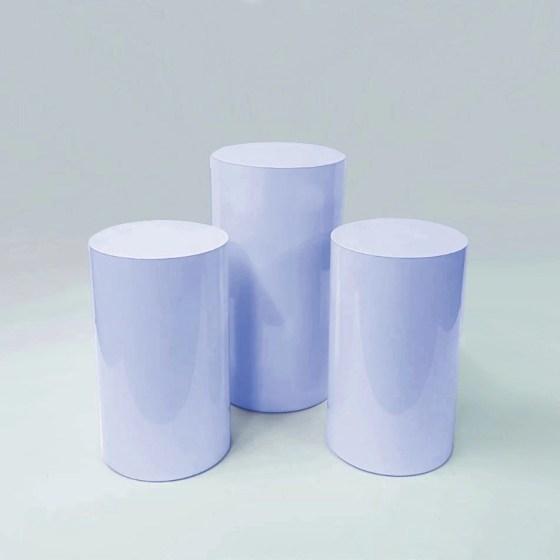 Baby Blue Plinth (Set of 3)