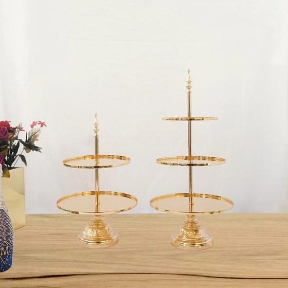 Gold dessert Platter