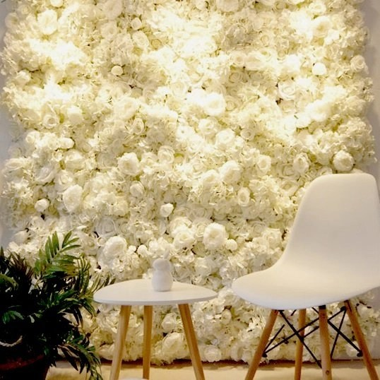 White Flower Wall Decoration