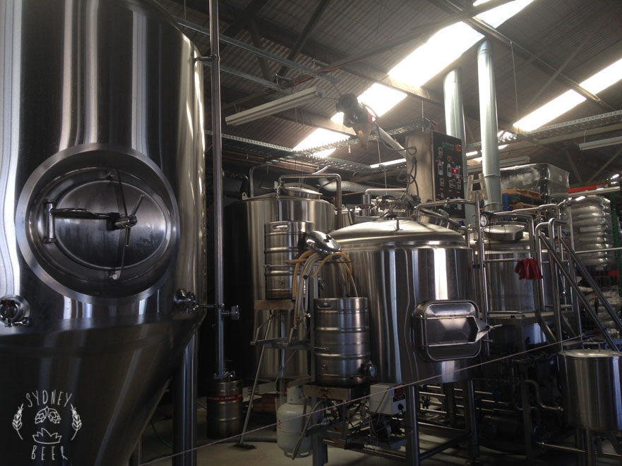 Batch Brewing stainless steell