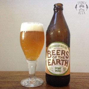 Stone & Wood Beers of the Earth Antipodean Pale Ale