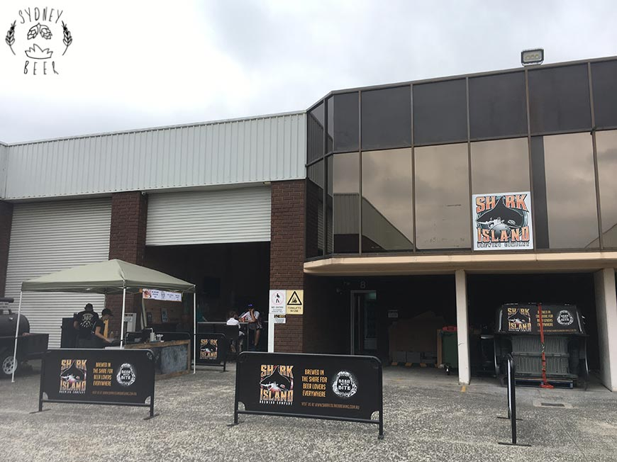 Shark Island Brewing cellar door Kirrawee