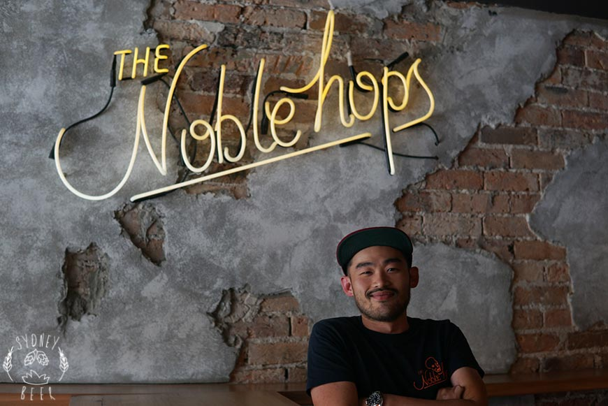 Joe Wee The Noble Hops