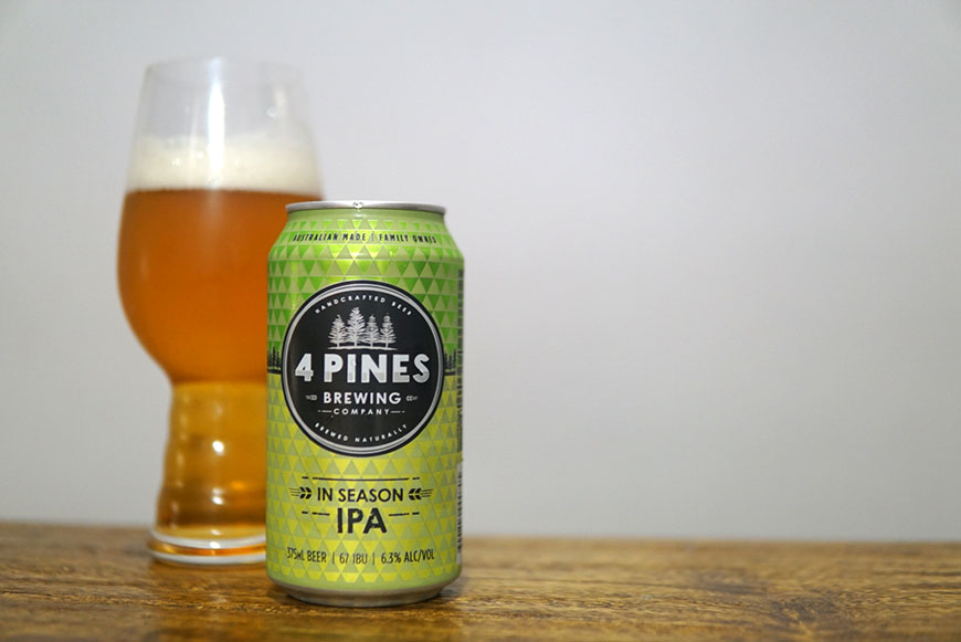 4 Pines In Season IPA #4