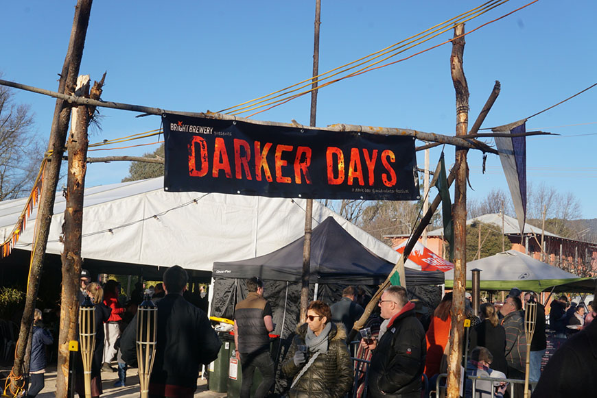 Bright Brewery Darker Days banner