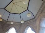 Interior roof of the entrance vestibule. (photo: Lisa Murray)