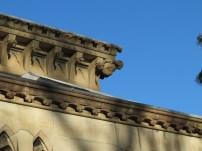 Angel gargoyle on the Mortuary Station. (photo: Lisa Murray)