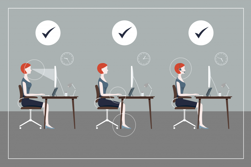 Healthy Desk Posture HowTo Guide  Sydney Corporate Yoga
