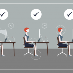 Office Chair Neck Pain Barber Repair Uk Healthy Desk Posture How-to Guide - Sydney Corporate Yoga