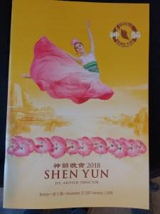 Shen Yun program cover