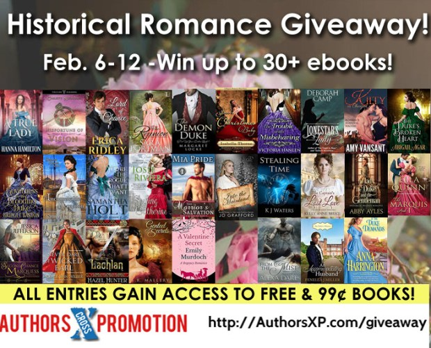 Historical Romance Book Giveaway