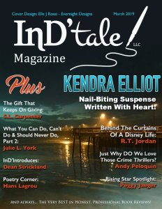 InD'Tale March Magazine Cover