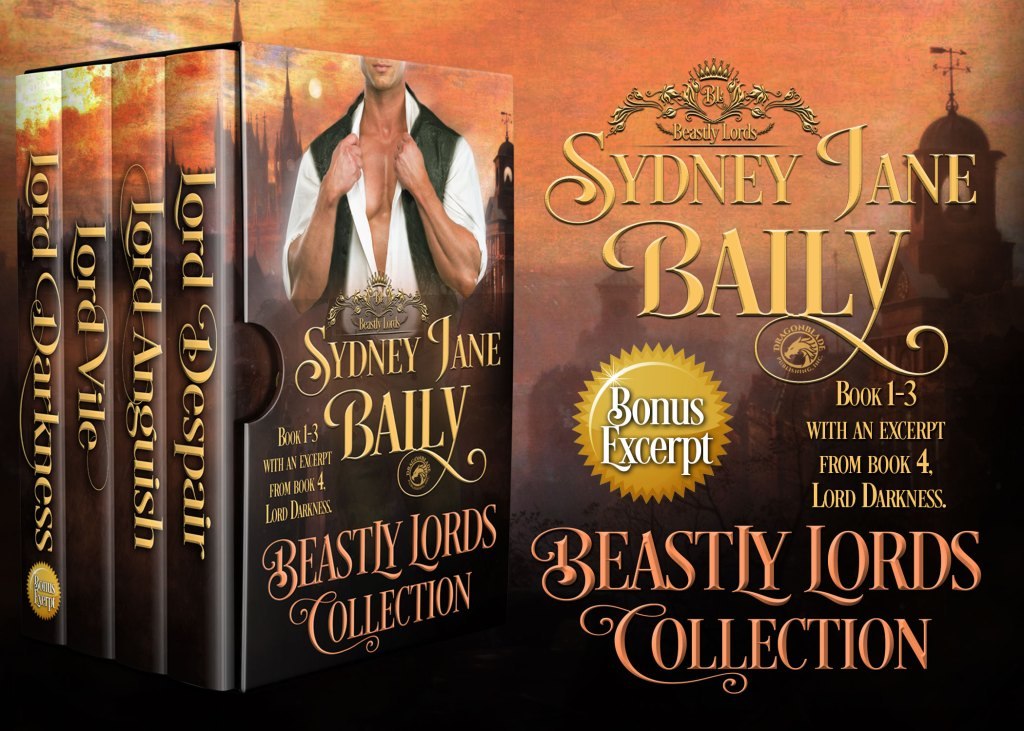 Beastly Lords Books 1 - 3 ad