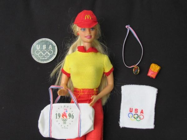 Mcdonald 1996 Olympic Barbie Sydney Mccoy