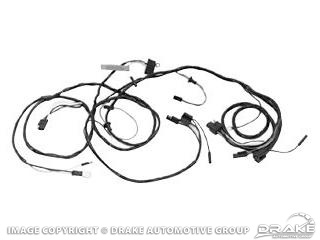 66 Headlight Wiring Harness (With Gauges) » Sydney Mustang