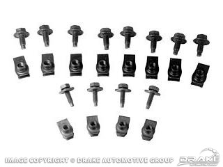 64-68 Front Valance Mounting Kit » Sydney Mustang Parts