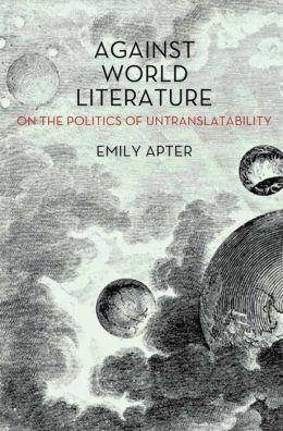 Against World Literature Cover