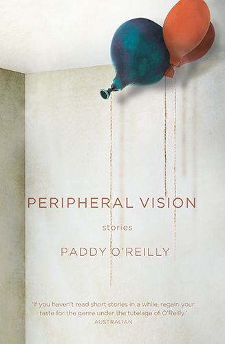 Peripheral Vision by Paddy O'Reilly Cover
