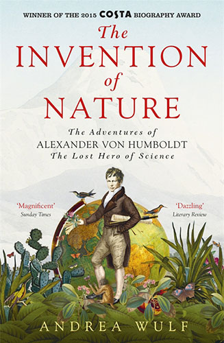 The Invention of Nature by Andrea Wulf book cover