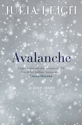 Avalanche by Julia Leigh book cover
