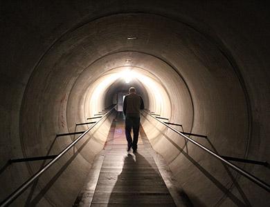 MONA tunnel