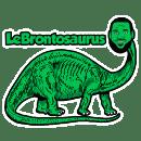 Lebrontosaurus 2019 s1