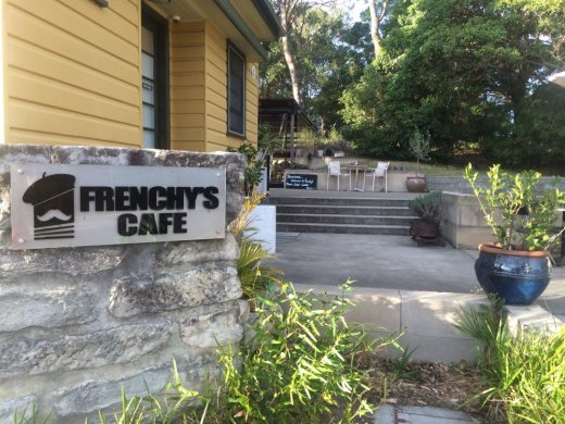 Frenchys Cafe for coffee after trail running