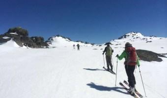 Ski-Touring Mt Kosi, Snowy Mountains