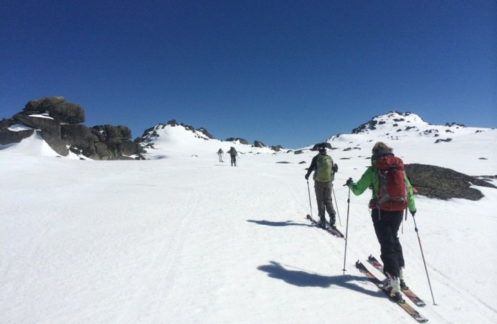 Ski-Touring Mt Kosi, Snowy Mountains