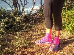 Trailgaiters (Pink Fish) at Norah Head