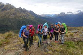 Routeburn overlooking Hollyford Valley