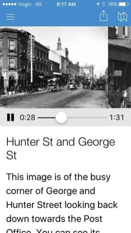 MAAS App George St Image and Audio