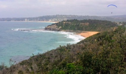 Narrabeen pool from Turimetta Headland
