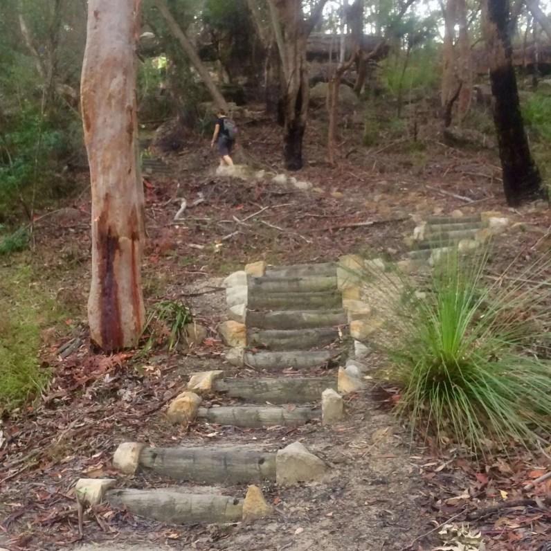 Natural Bridge Stairs