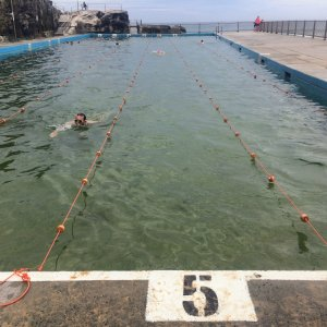 Queenscliff rock pool lanes