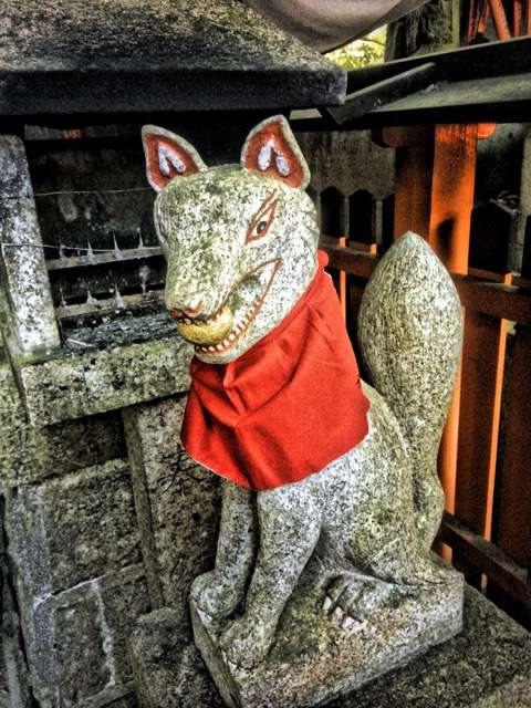 Mythic Yoga Journey Japan sacred travel kitsune fox