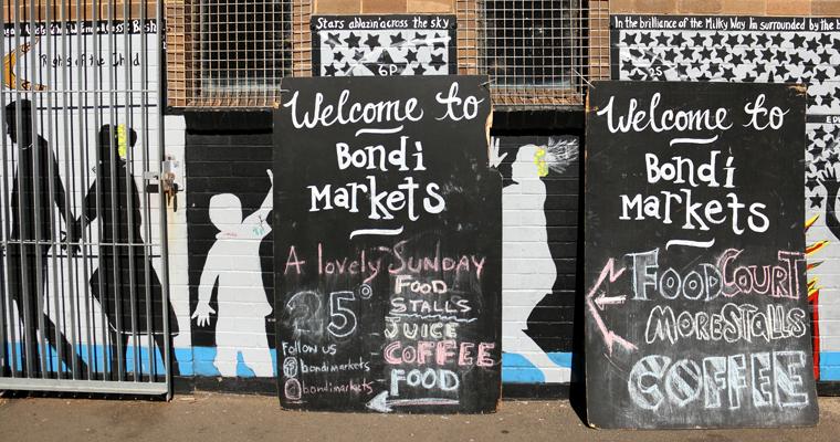 ビーチサイドのマーケット BONDI MARKET(ボンダイ・マーケット) | BONDI BEACH