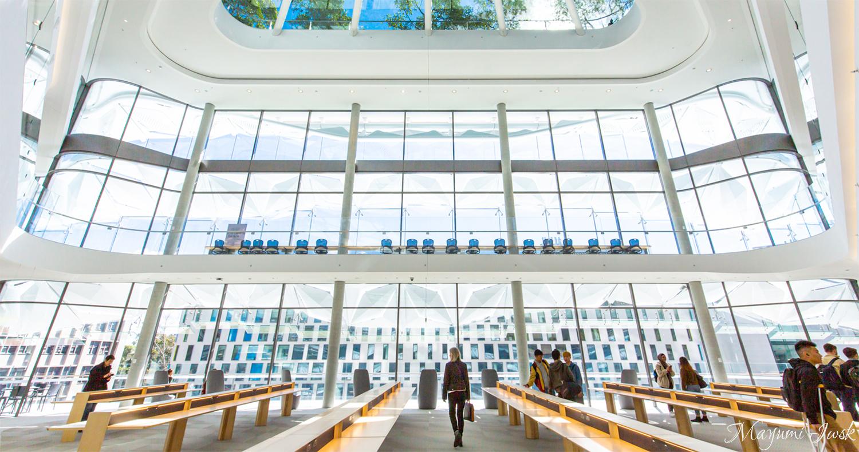 シドニー建築巡り③ UTS CENTRAL(シドニー工科大学セントラル校舎)| CHIPPENDALE