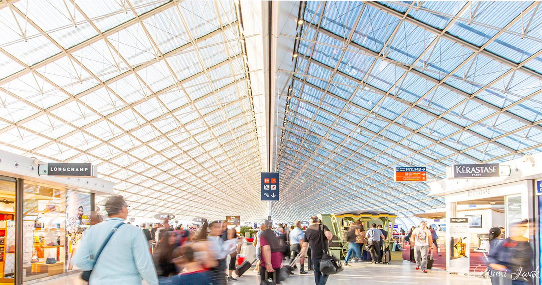 ヨーロッパ旅行で訪れた美しい空港  BEAUTIFUL AIRPORT IN EUROPE