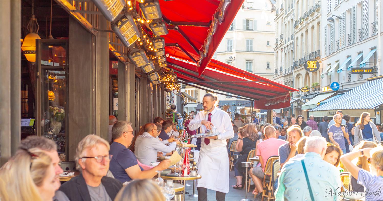 サン・ジェルマン・デ・プレのブラッスリー L'ATLAS(ラトラス)| PARIS