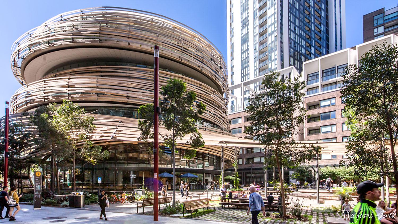 ダーリングスクエアにオープンしたアイコニックなビル THE EXCHANGE(ザ・エクスチェンジ)| DARLING SQUARE