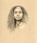 Little Debbie, test sketch, 2014
