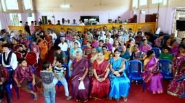 Plus d'une centaine d'invités pour le mariage de Rakesh et Sangeetha