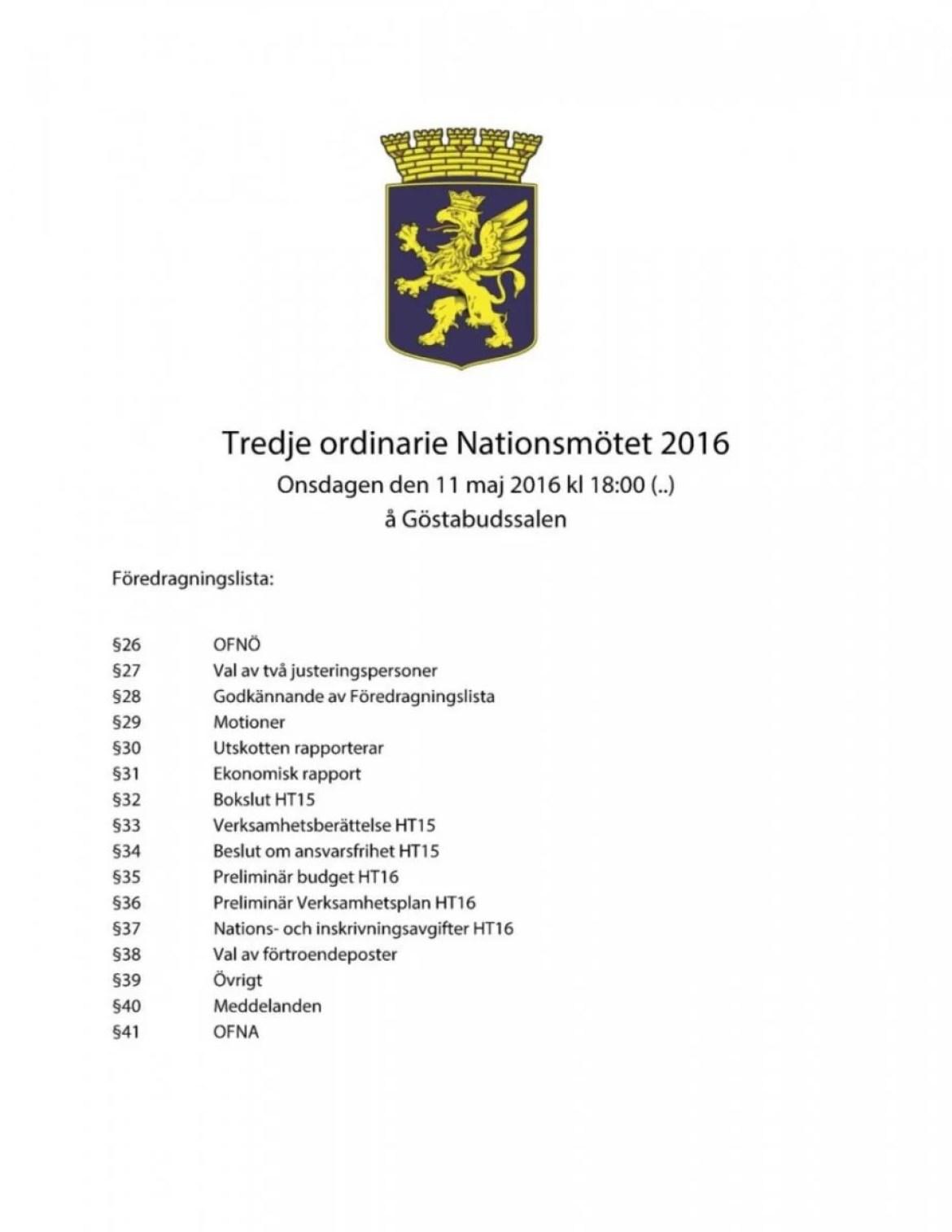 Dagordning 2016-05-11