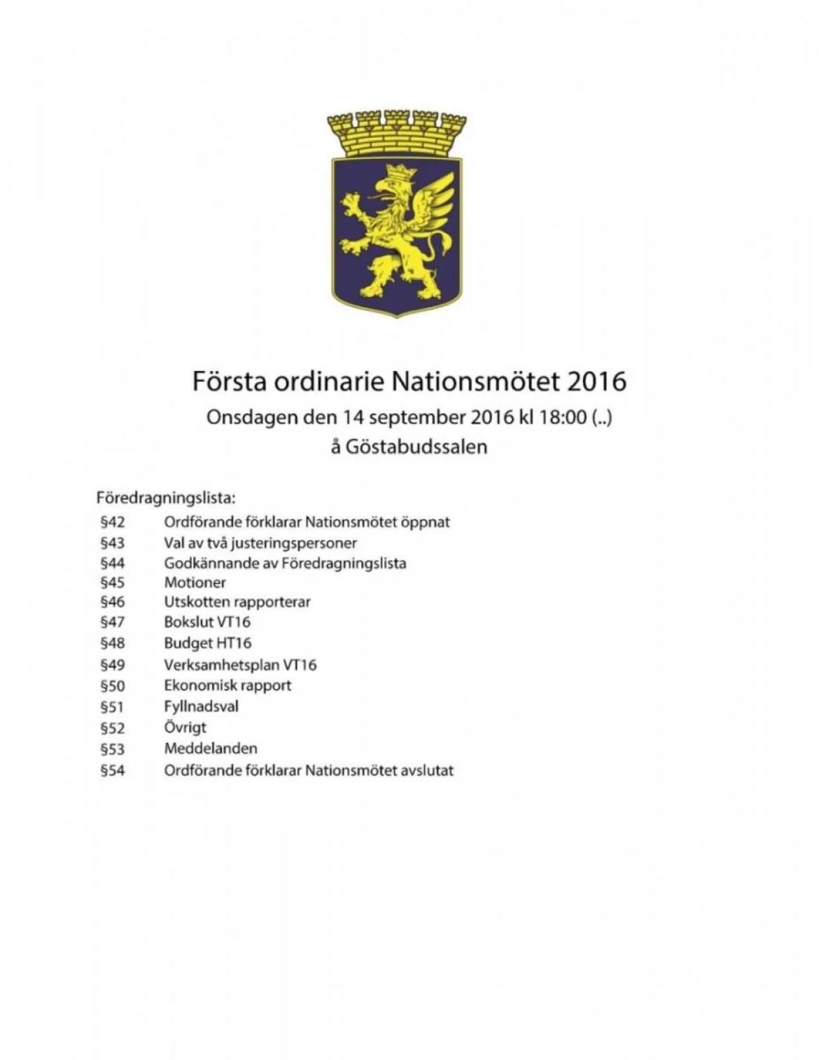 Dagordning 2016-09-14