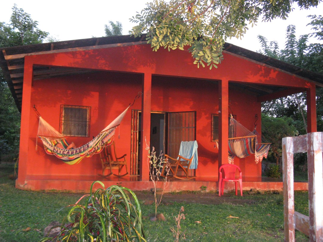 Our casita from the water's edge