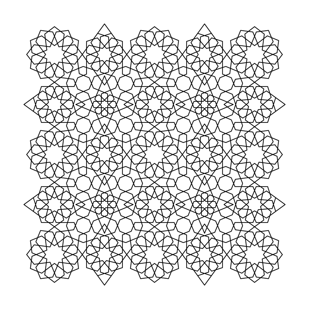 coloring page tessellation patterns Car Pictures
