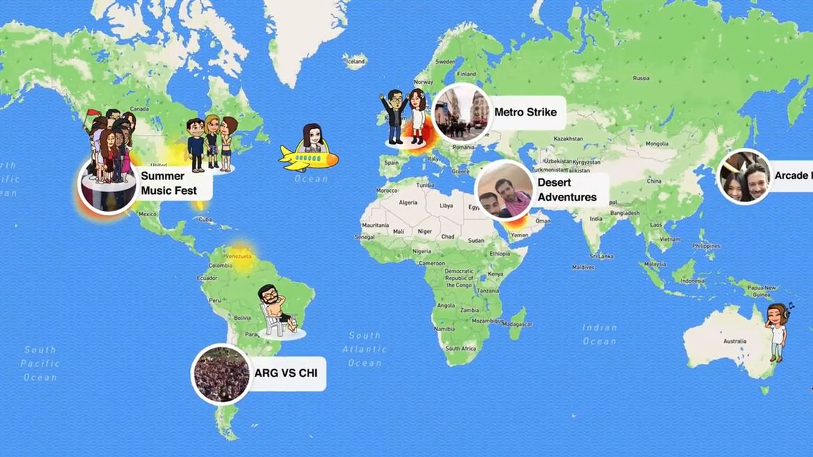 What is Snap Map and how can brands use it?