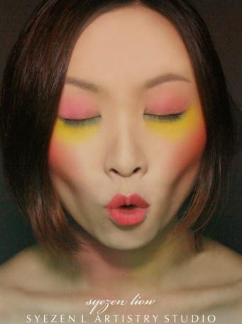 Summer Fashion Makeup