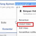 3 cara mudah download video dari Facebook